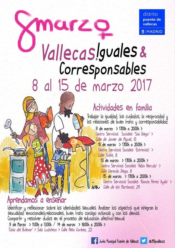 Cartel Abierto hasta el amanecer Servicios Sociales 8 MARZO 2017
