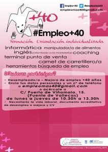 Empleo +40 Abierto hasta el Amanecer Agencia para el empleo Madrid