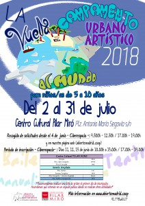Campamento 2018 Centro Cultural Pilar Miró