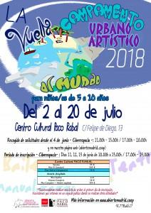 Campamento 2018 Paco Rabal Centro Cultural